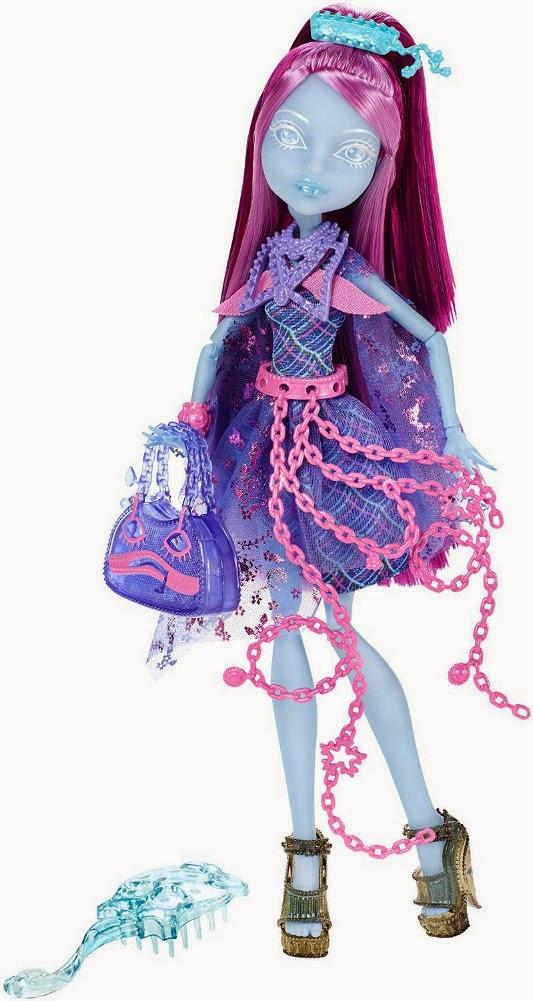 JUGUETES - MONSTER HIGH : Haunted | Embrujadas  Kiyomi Haunterly : Student Spirits | Muñeca  Producto Oficial | Mattel | A partir de 6 años