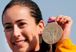 Mariana Pajon, oro para colombia