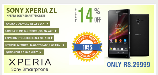 Xperia ZL at Kaunsa.com