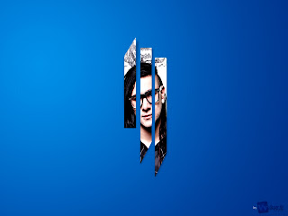 Dj Skrillex Logo Minimalist Design HD Wallpaper
