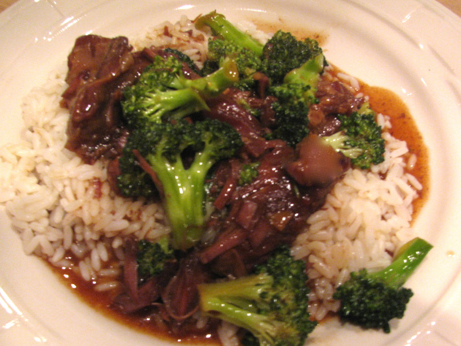 Rita's Recipes: Crock Pot Beef and Broccoli