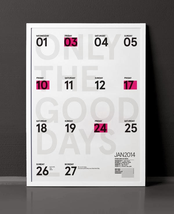 Calendar Graphic Design : Creative calendar designs jayce o yesta