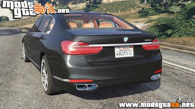 V - BMW 750Li 2016 para GTA V PC