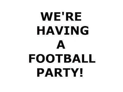 HEALTHY FOOTBALL PARTY RECIPES