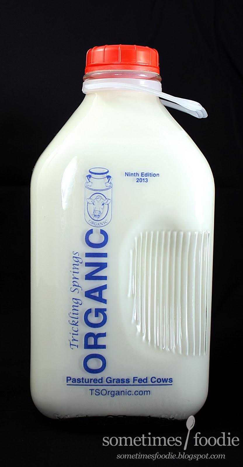 Befoe Drinking Milk