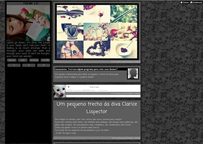 Dicas De  Theme Para Tumblr
