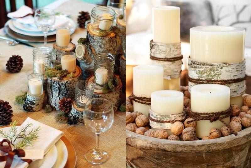 dekoracje świąteczne świeczki