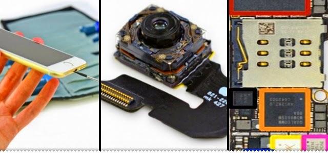 Hipernovas: iPhone 6 Plus desmontado (12 Imagens)
