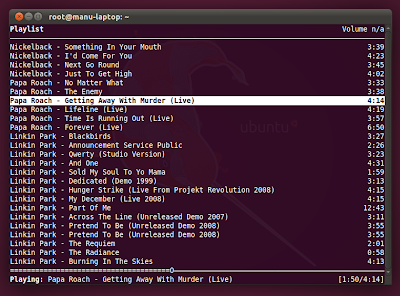 MPD + NCMPC = Music Nirvana For Command Line Folks