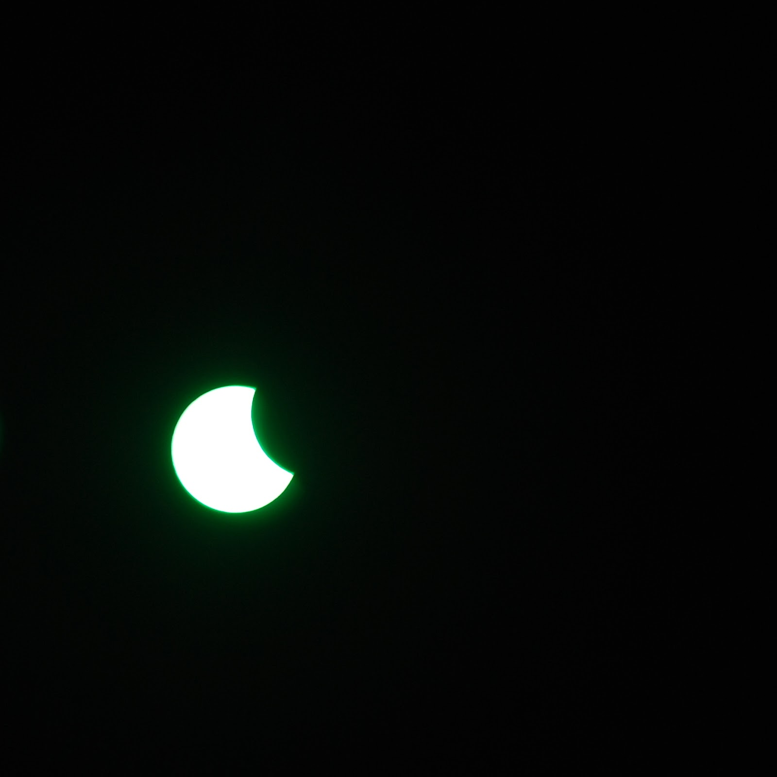 20.03.2015 solar eclipse. Poland
