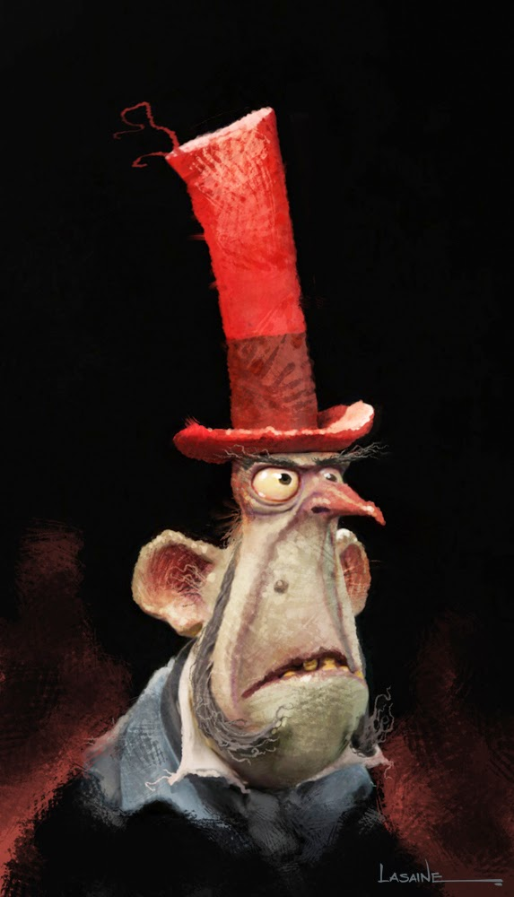 The Boxtrolls Mr Gristle