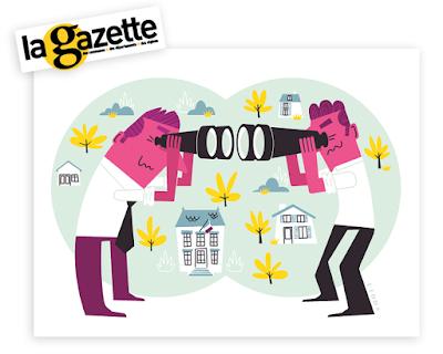 Illustration Clod Gazette des Communes, mot du mois, proximité