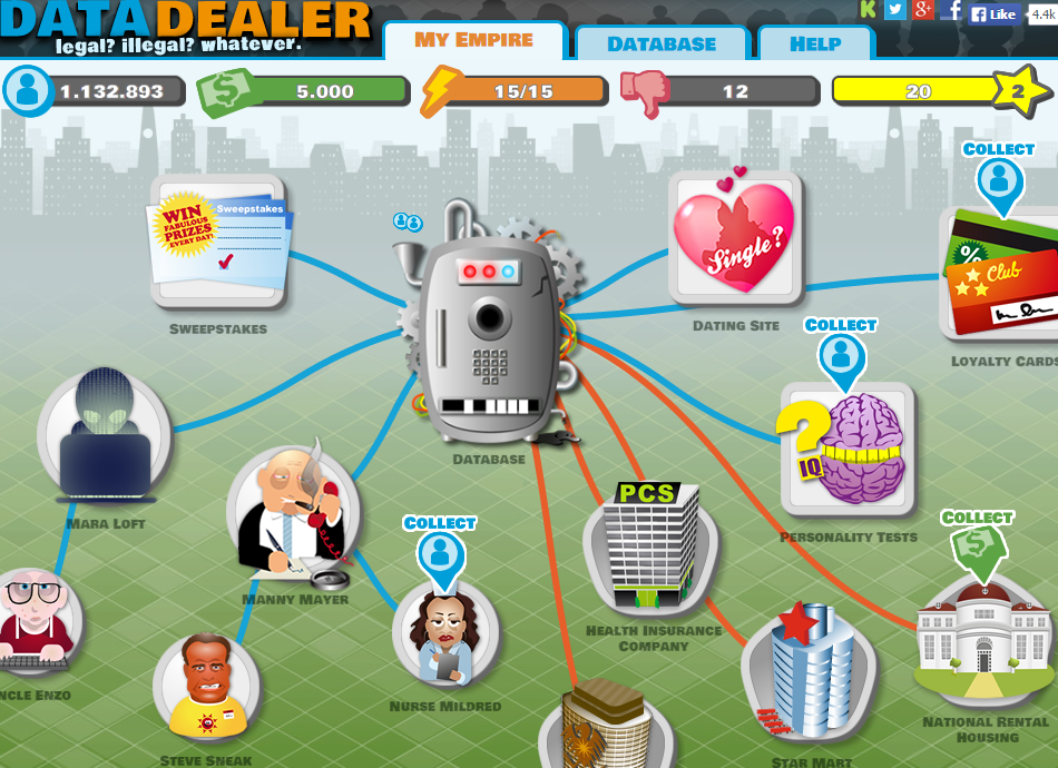 Play Time: Data Dealer