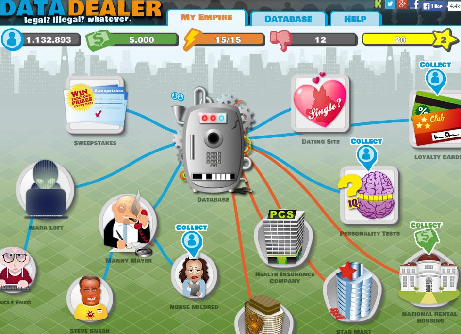 Play Time: Data Dealer