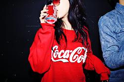 I LOVE COCA COLA