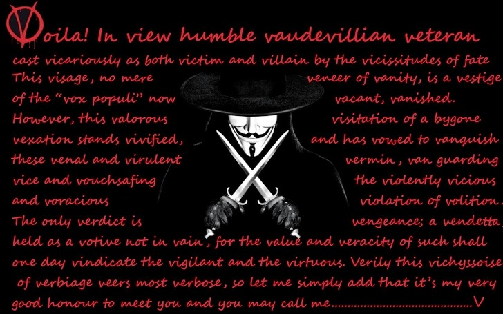 v for vendetta replikleri