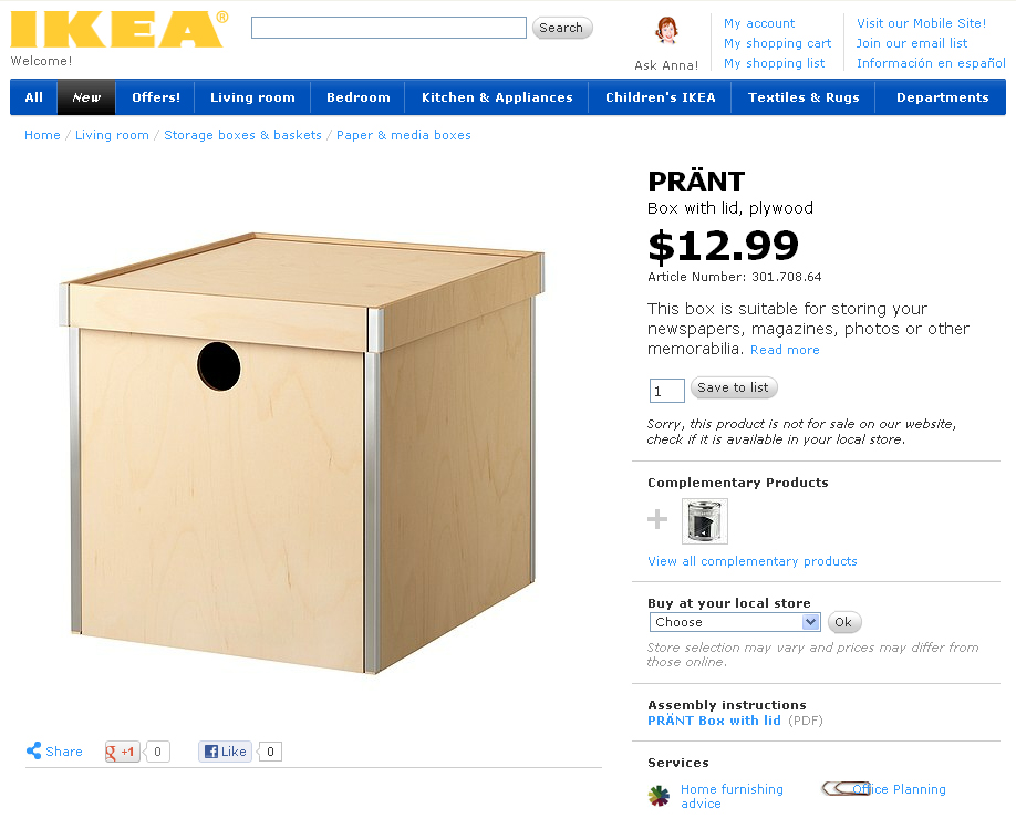 Painted Ikea Storage Boxes