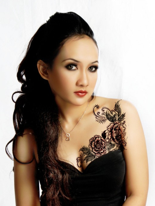 The most popular tattoo collection zodiac tattoos for Pretty breast tattoos