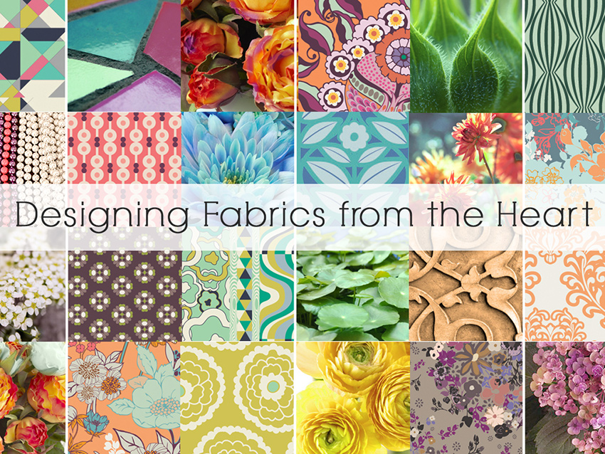 Designing Fabrics from the Heart