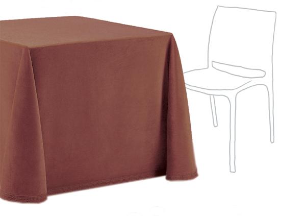 Falda mesa camilla cuadrada