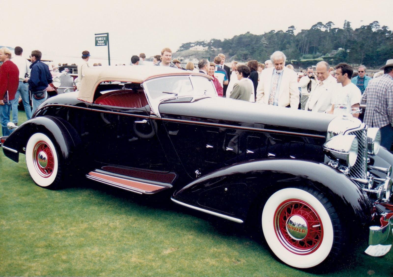 1932 Chrysler Imperial Custom Roadster Vintage Motoring Blog 1950s Cars