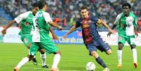 Messi Pimpin Pesta Barcelona