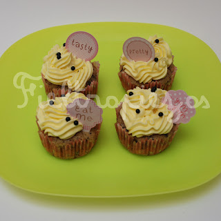 cupcakes de ore y buttercream de vainilla