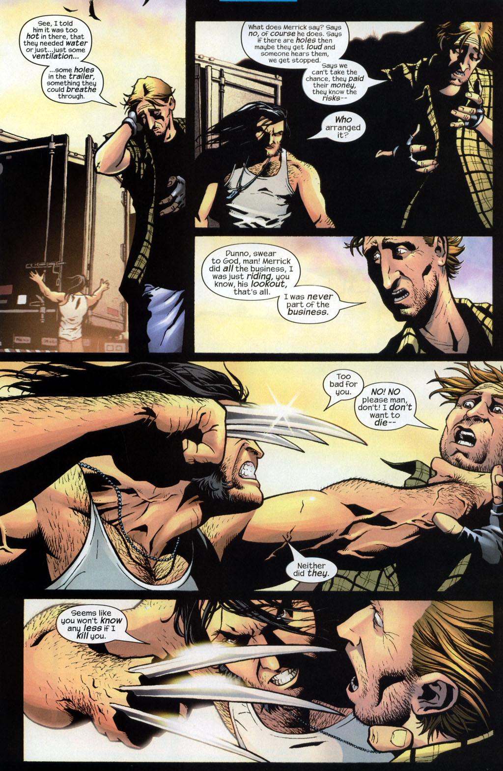 Read online Wolverine (2003) comic -  Issue #7 - 13