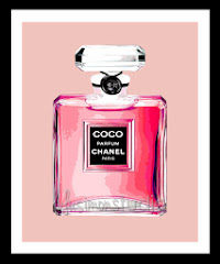 8x10 COCO Chanel Perfume Bottle Print $15