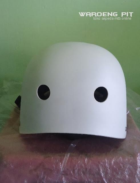 Jual Helmet Nuke head putih sepeda mtb bmx  murah  4