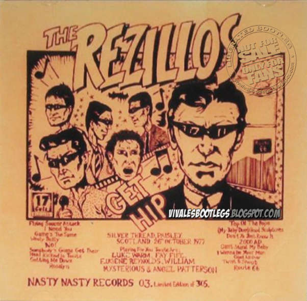 The Rezillos Flying Saucer Attack My Baby Does Good Sculptures