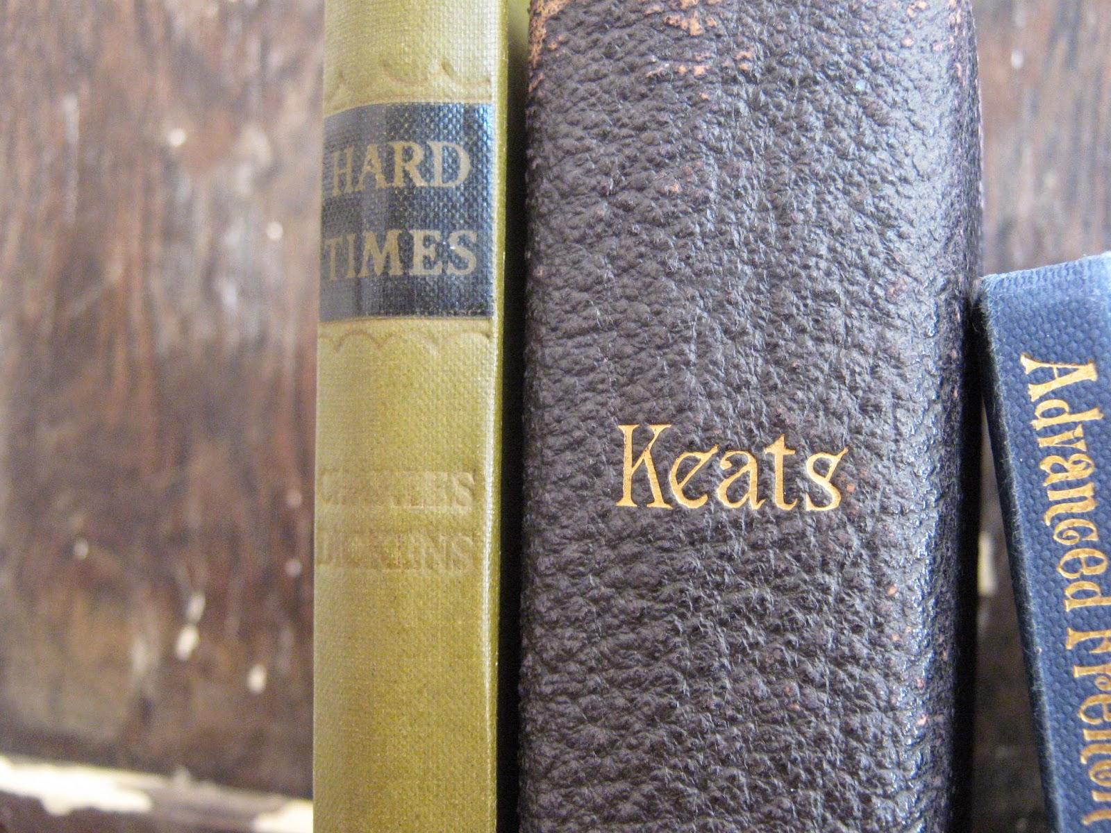 Hard Times Charles Dickens Keats Poetry