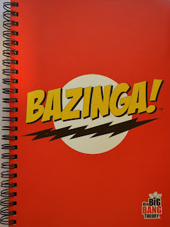 The Big Bang Theory note book