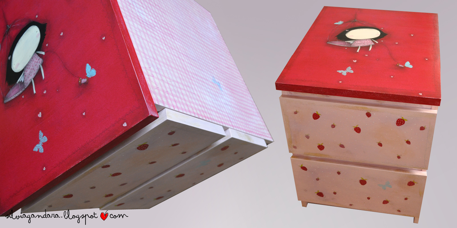 Silvia g ndara mesilla malm personalizada - Ikea mesilla malm ...