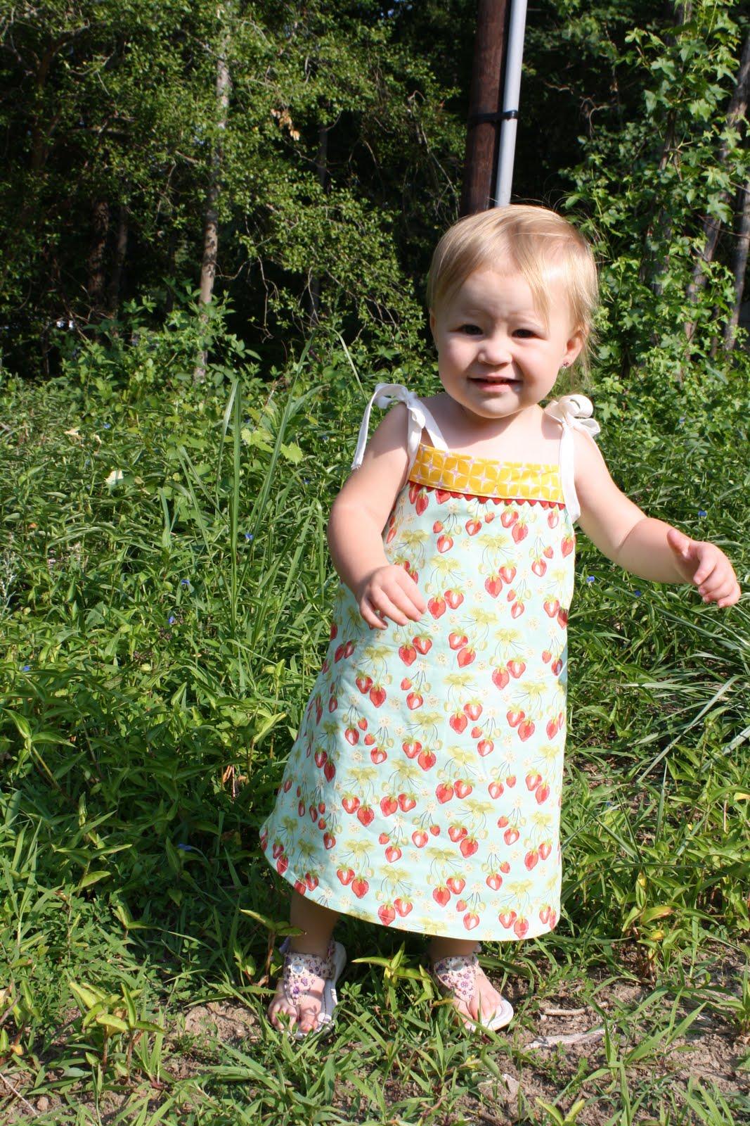 free child sundress pattern