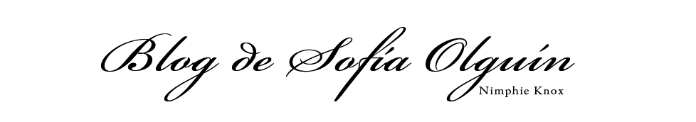 Blog de Sofía Olguín