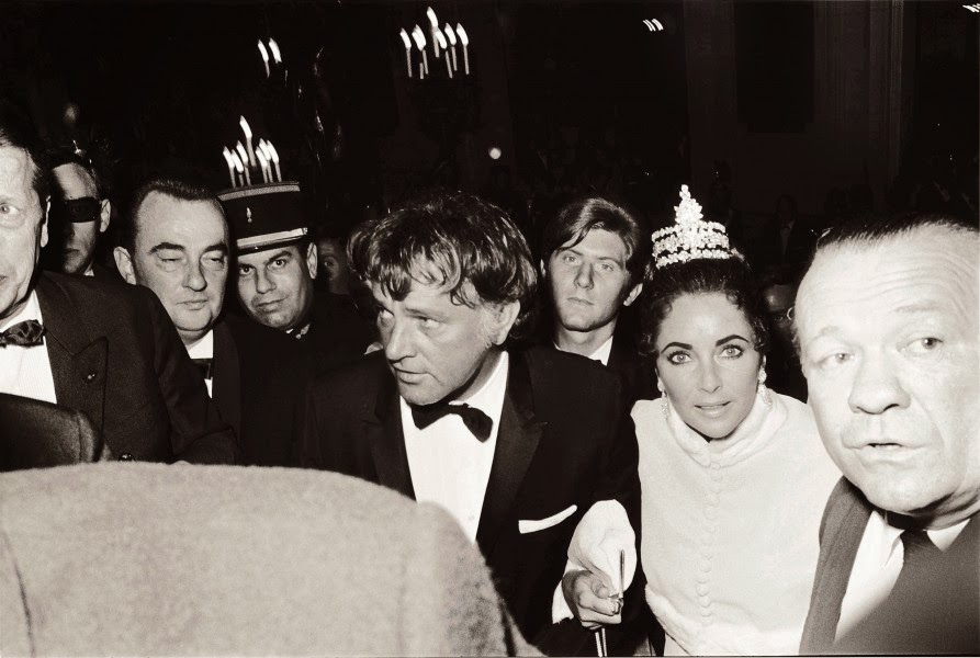 Elizabeth Taylor And Richard Burton Taylor And Richard Burton