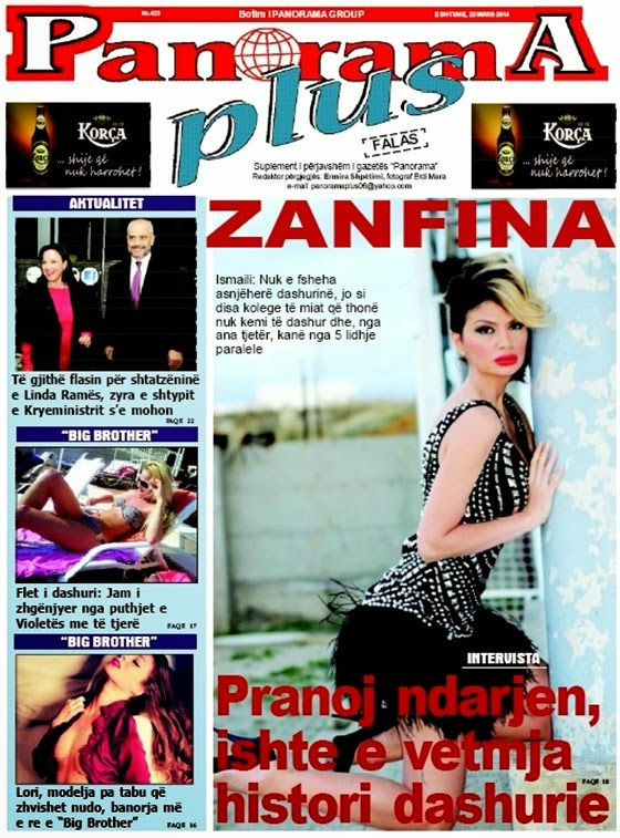 Revista PANORAMA PLUS - 29 Mars 2014