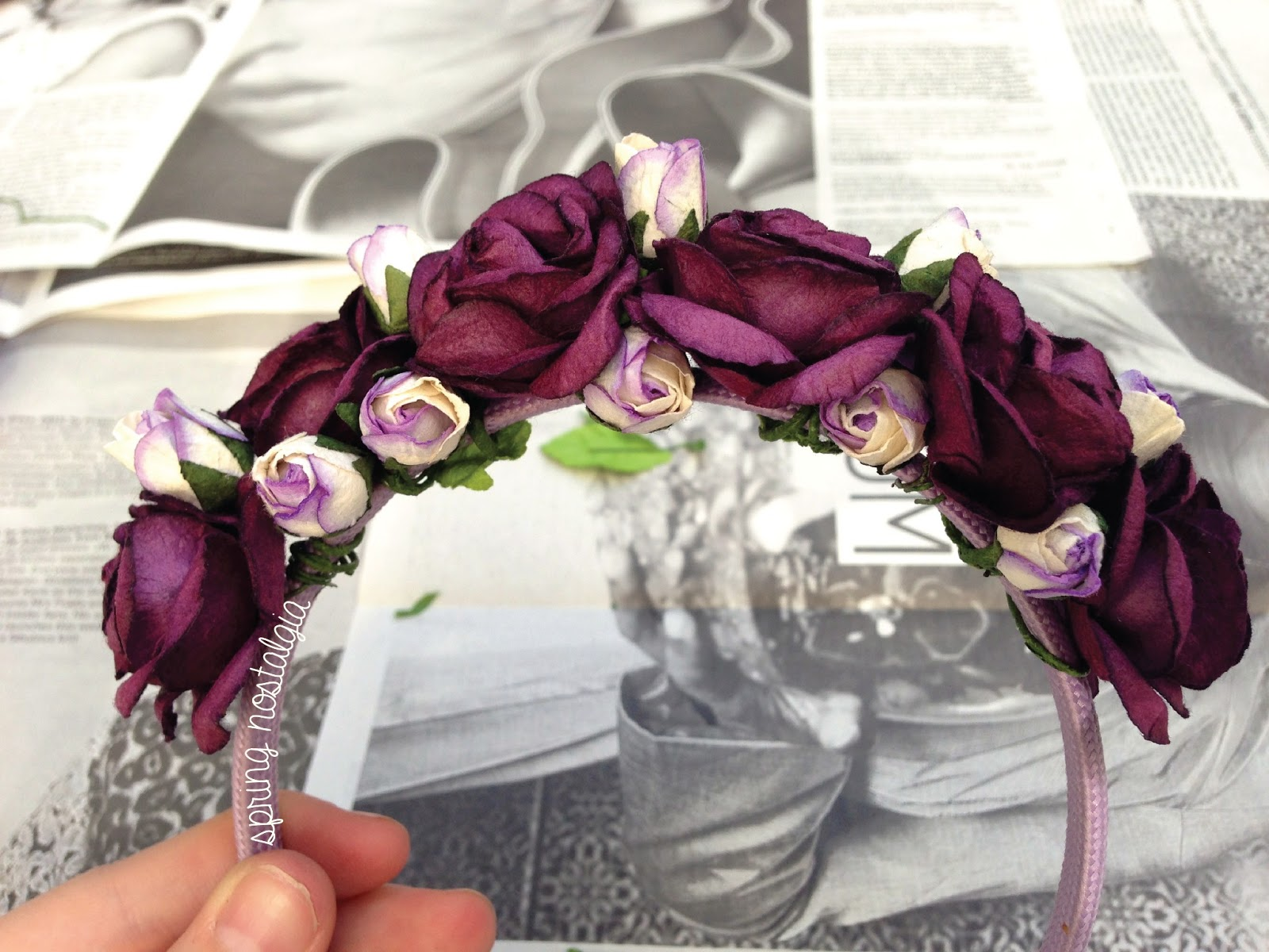 Diy Flower Crown Desert Rose Diary