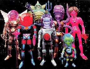 Os homens do espaço sideral