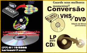 CONVERTA FITAS EM CD/DVD