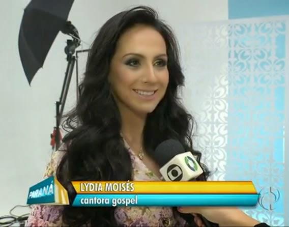 Lydia Moisés para o RPC Tv