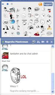 Cara Menambahkan Rage Face di Chat Facebook