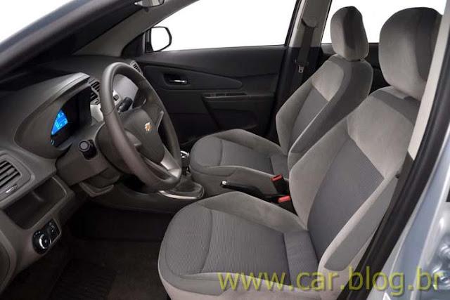 Novo Chevrolet Cobalt 2012 - bancos
