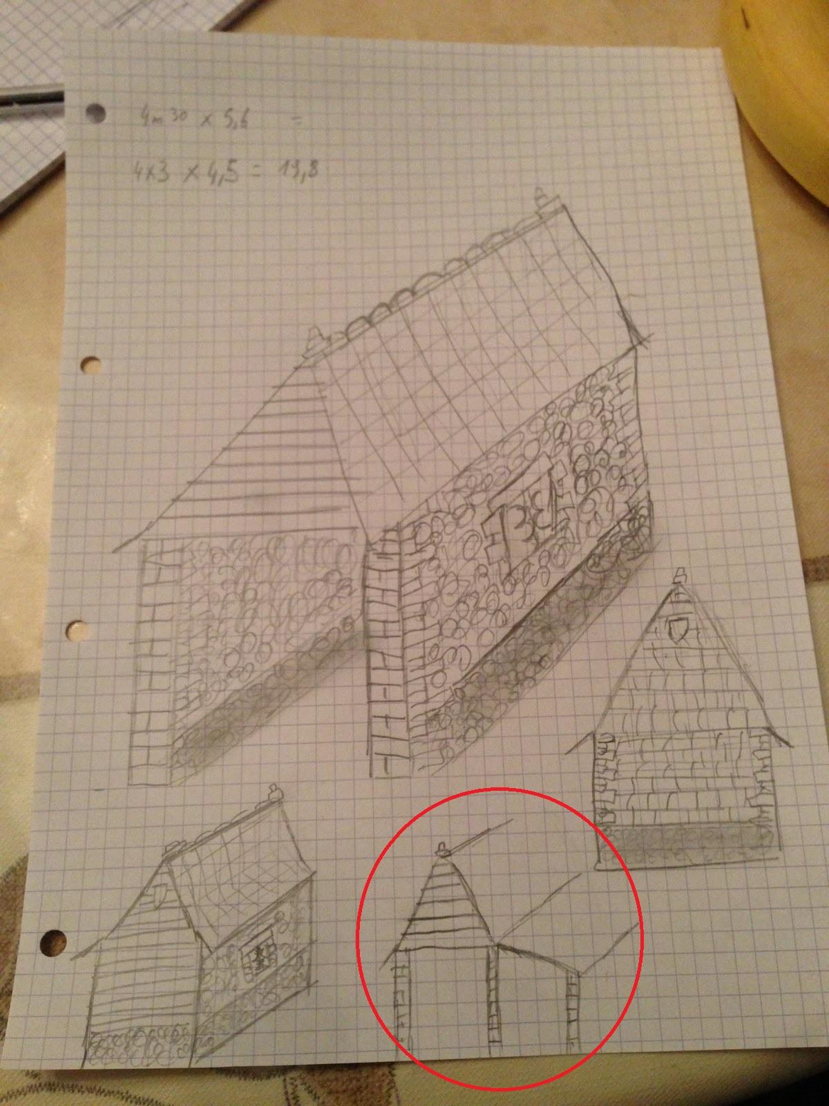 La ferme des blancs pignons projet 1 le garage for Prolongation permis de construire