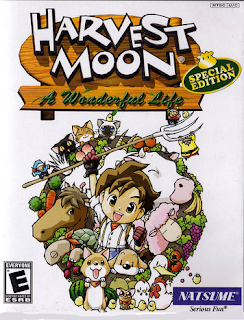 Harvest Moon A Wonderful life Special Edition Cover