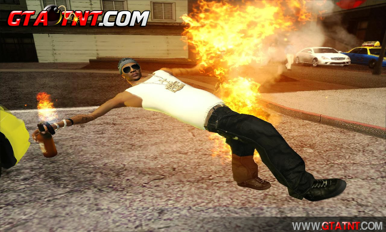 GTA SA - Burn Mod (Queimadura real)