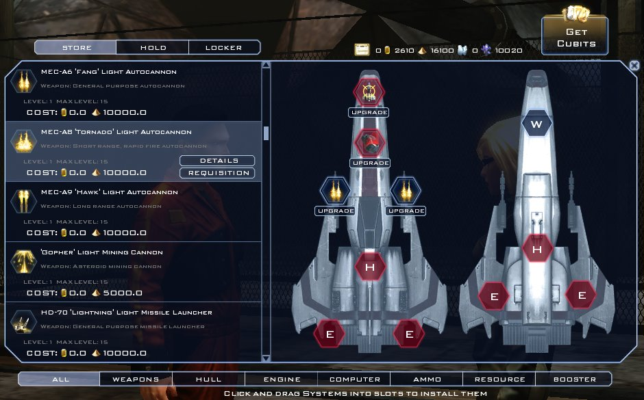 Battlestar Galactica Online - Outfitting Your Ship