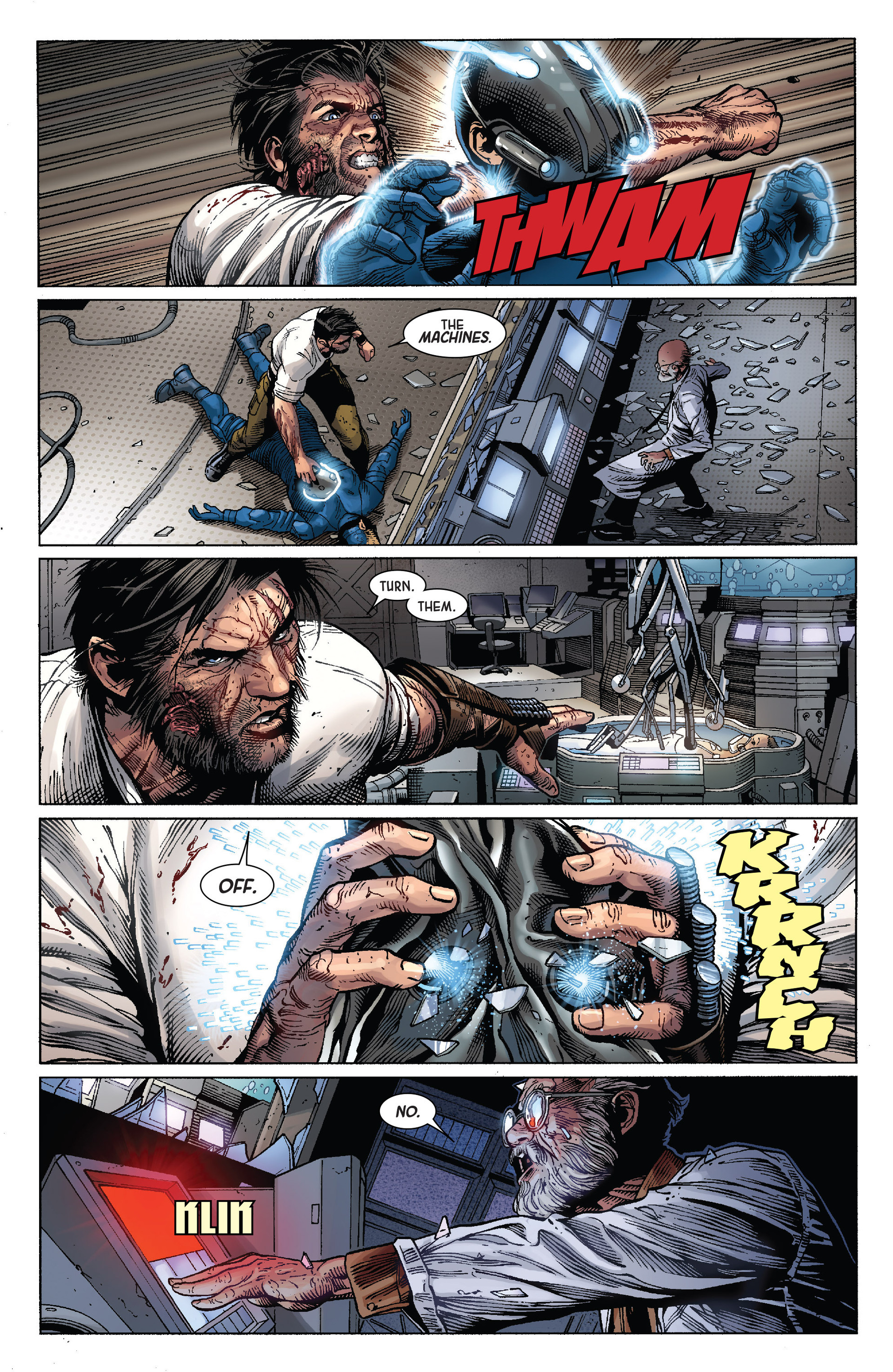 Death of Wolverine Issue #4 #4 - English 14