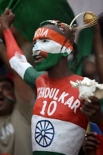 Indian Cricket Fans Photos World Cup 2011